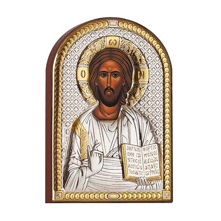 Икона Христос златен