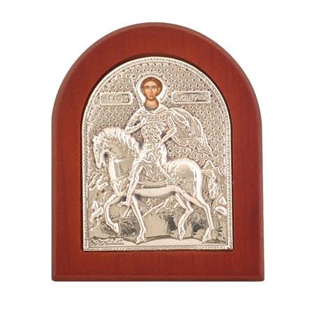Икона св.Димитър сребро
