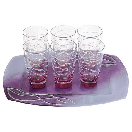 Комплект 6 чаши вода Violet Oazis