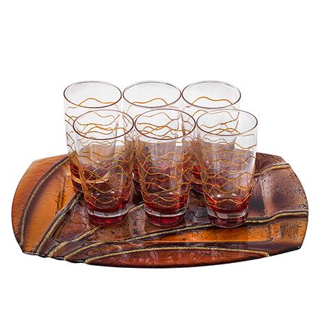 Комплект 6 чаши вода Kalipso