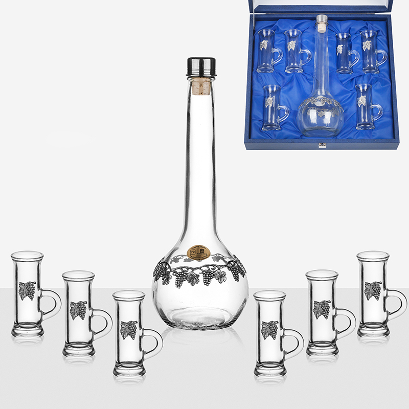 Сет бутилка + 4 чаши