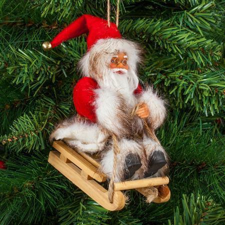 Дядо Коледа 13см.