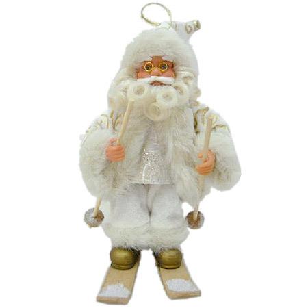 Дядо Коледа на ски 18 см.