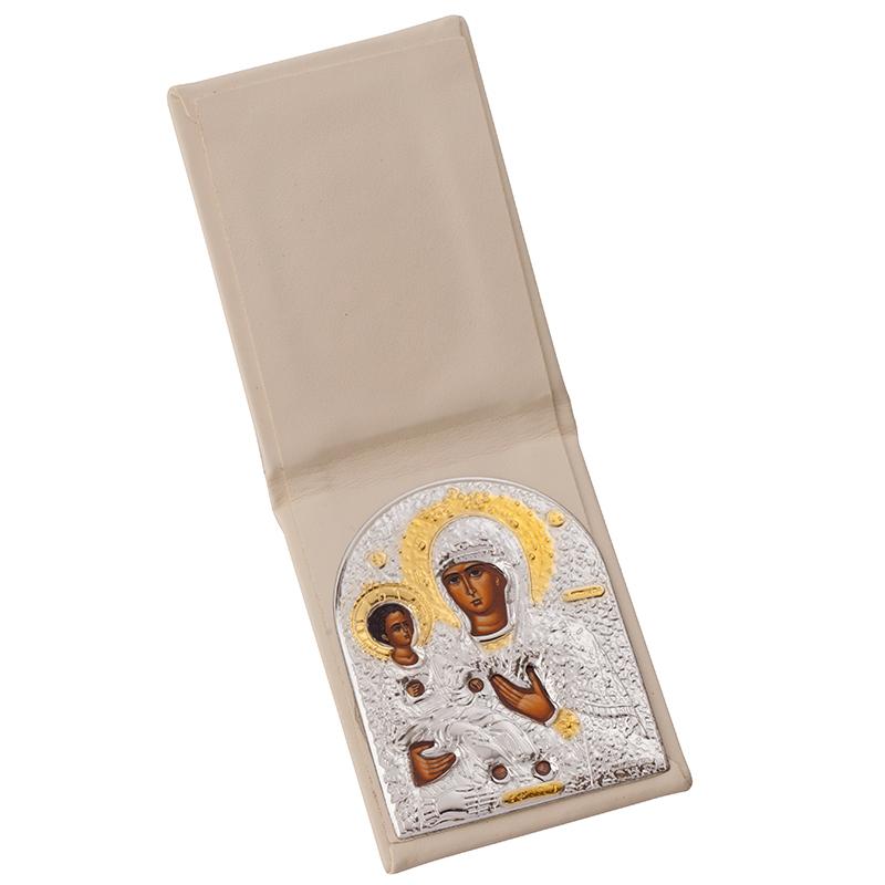 Икона Богородица джоб злато