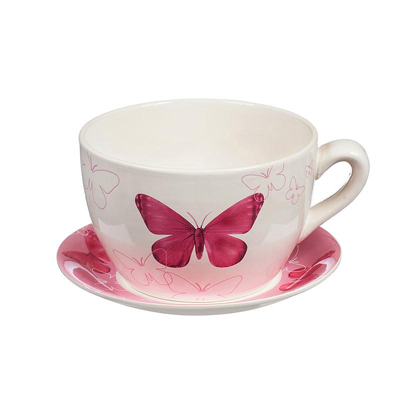 Саксия чаша пеперуда малка