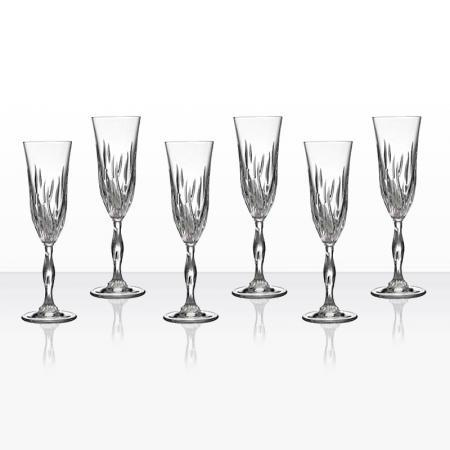 Fire 6 чаши шампанско