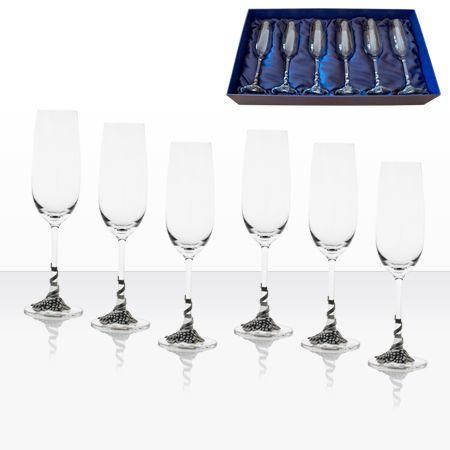 Чаши шампанско 6 бр. AGL1626