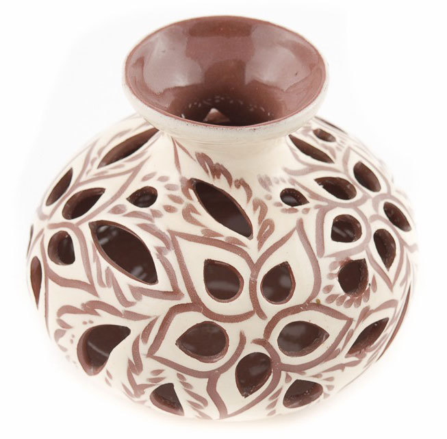 "Керамична ваза ""Ажур"""