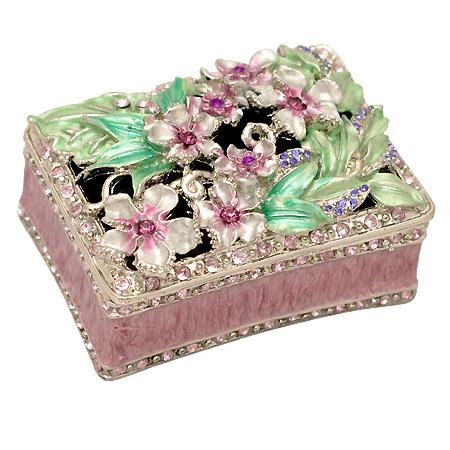 Кутия за бижута пурпур