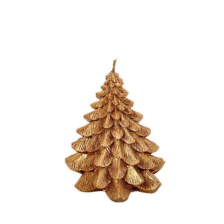 Коледна свещ елха амбър