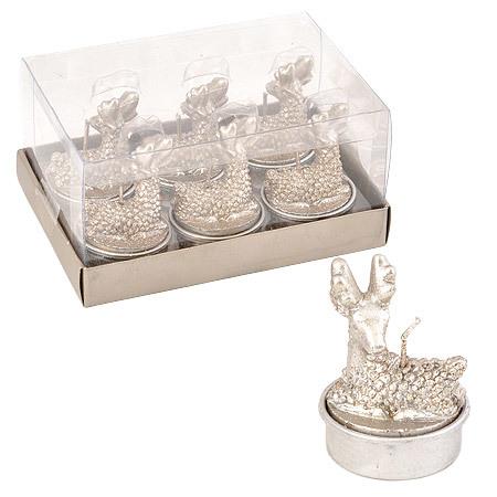 Свещ еленчета 6бр. сребро