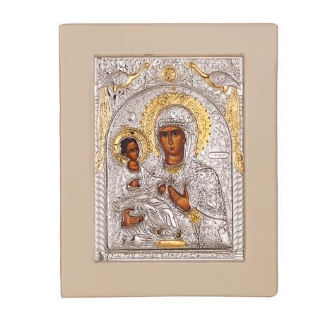 Икона Богородица Троеручица