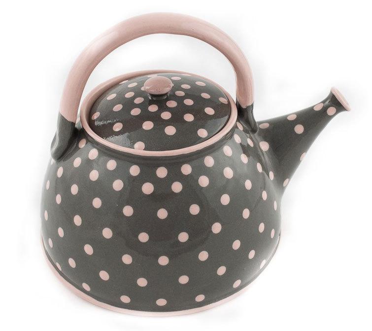 "Керамичен чайник ""Точки"""