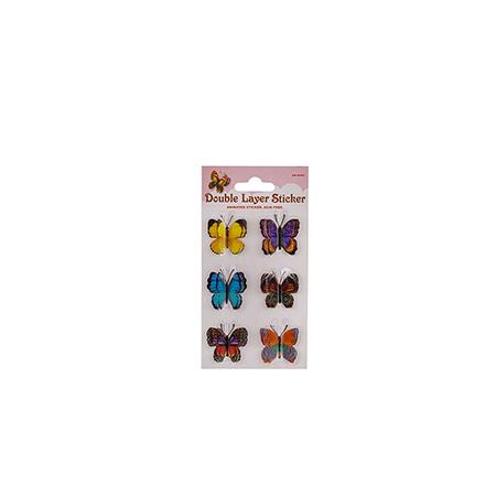 Стикер пеперуди