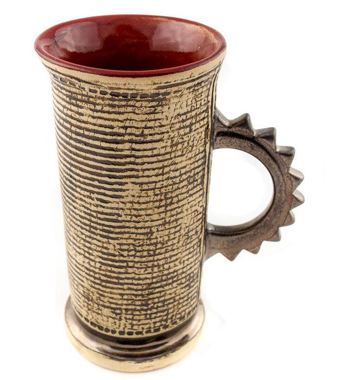 Ръчно изработена керамична чаша