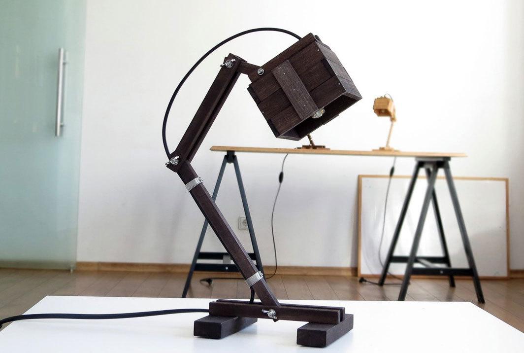 Ръчно изработена лампа