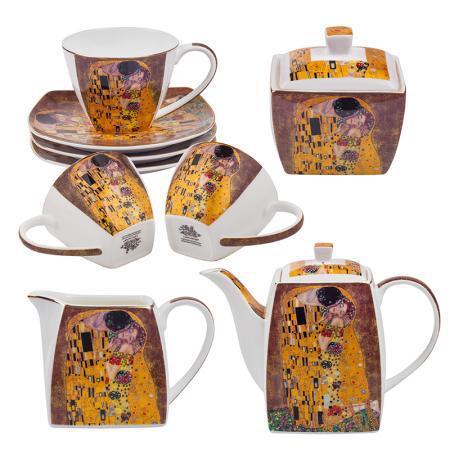 """Сервиз за чай """"Густав Климт"""""""