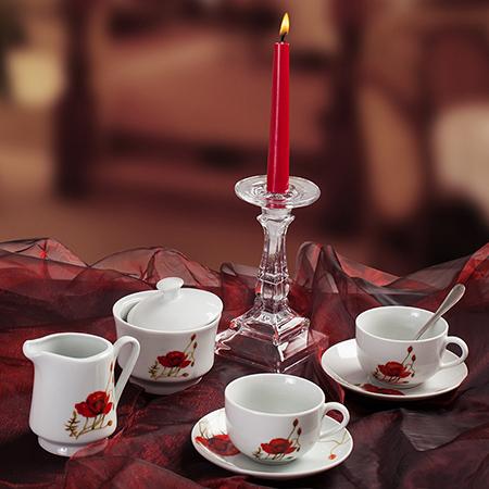 Сет за кафе Poppy