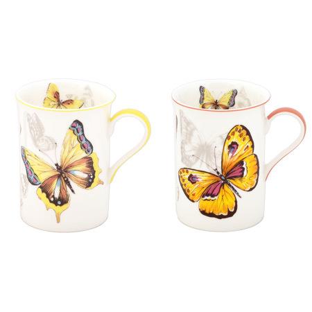 """Комплект 2 чаши """"Пеперуди"""""""