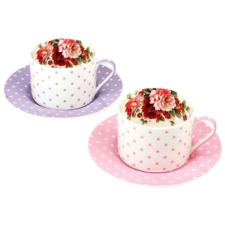 "Комплект 2 чаши за кафе ""Перла"""