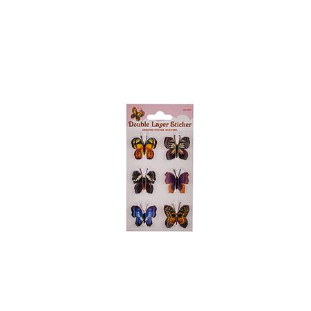 Стикер пеперуди малък