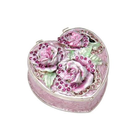 """Кутия за бижута """"Роза пурпур"""""""