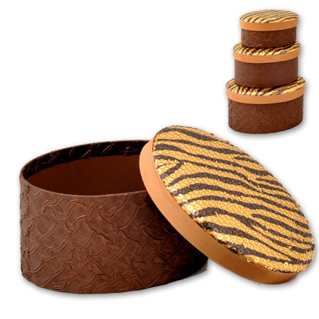 Кутии за бижута Tiger комплект от 3 броя