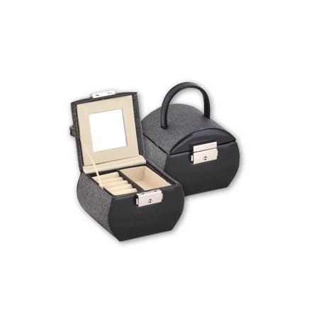 Кутия за бижута Black+silver