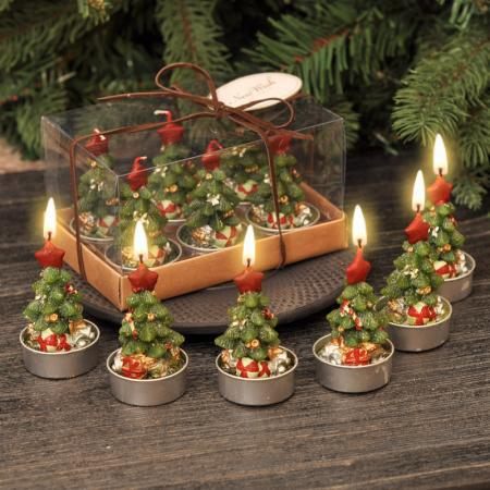 Свещ елхички