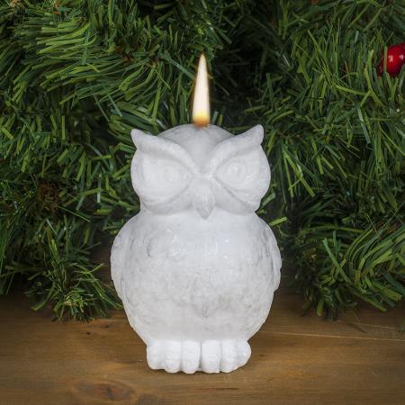 Свещ бяла сова
