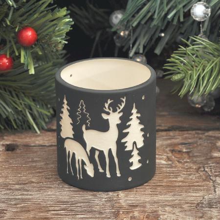 Коледен свещник еленчета