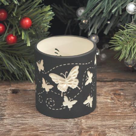Коледен свещник пеперуди