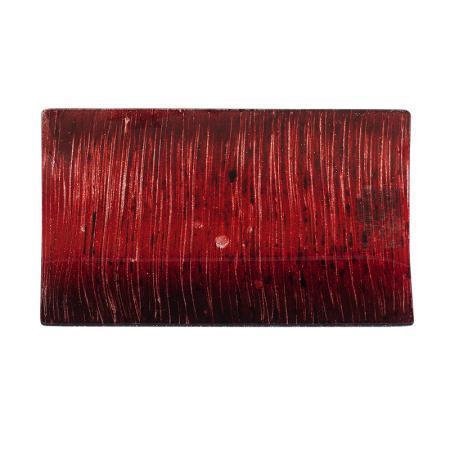 Стъклена подложка червена