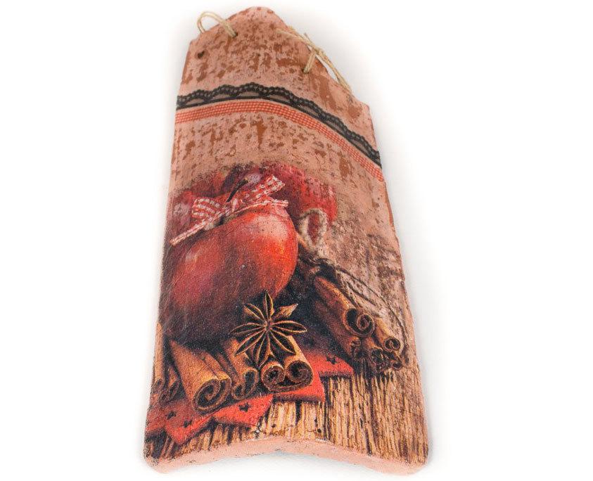 Ръчно декорирана керемида