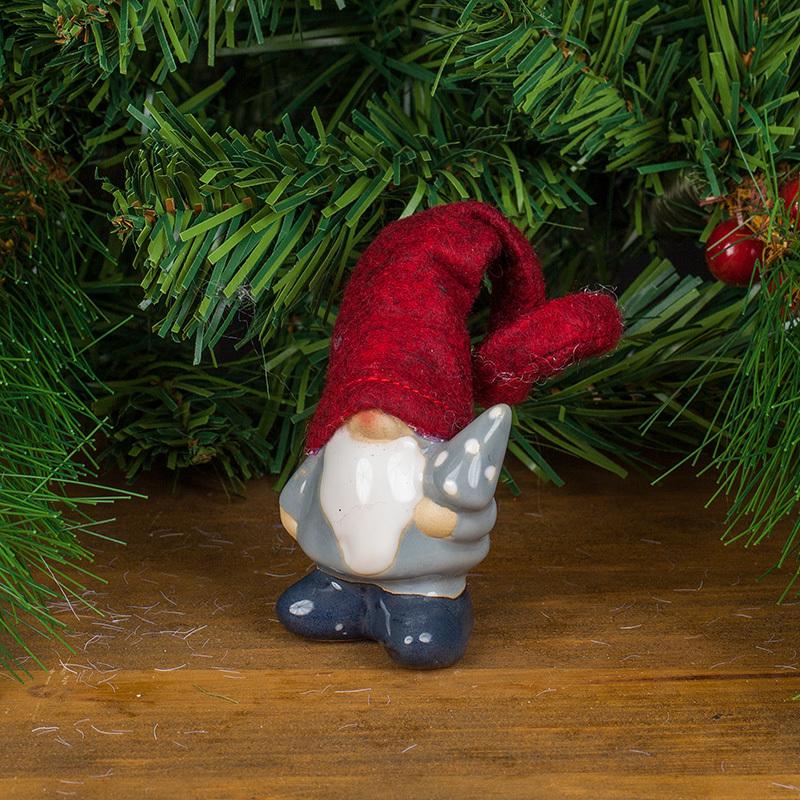 Коледен елф порцелан