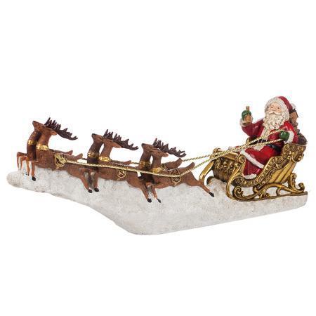 Дядо Коледа на шейна