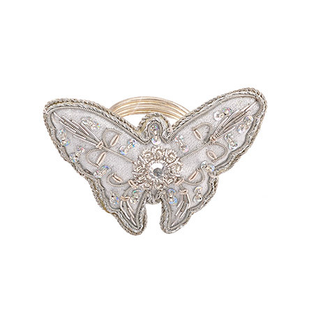 Пръстен за салфетки пеперуда