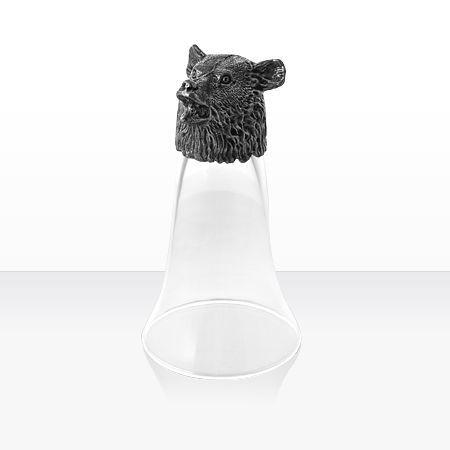 Чаша за вино мечка