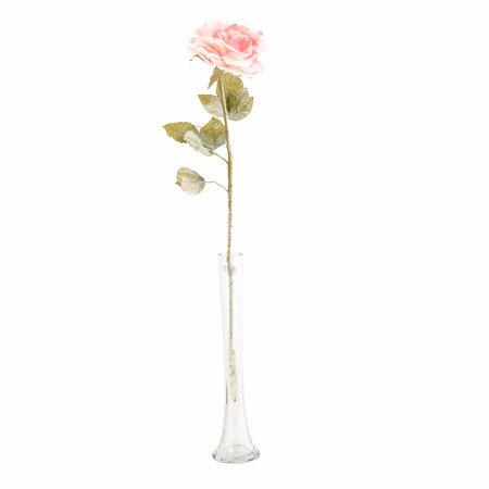 Розова роза стрък